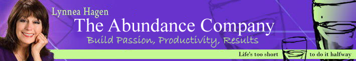 Lynnea Hagen - Business & Kife Coach - Abundance Coaching - For Business & Life!